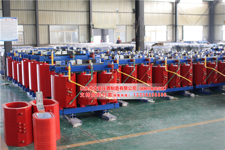 SCBH15-1000KVA非晶合金干式变压器