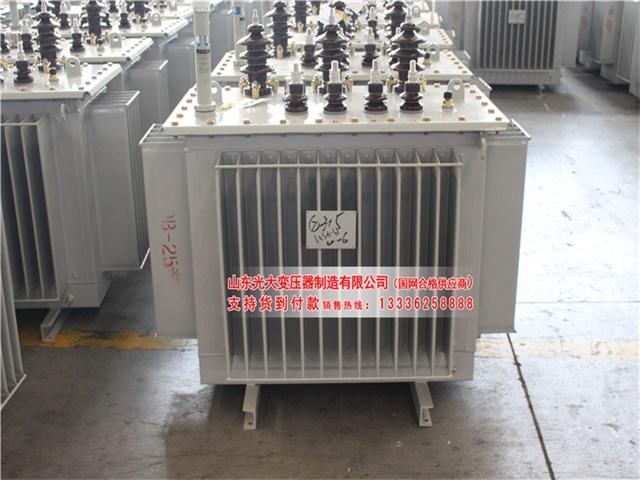 黄陵S11-400KVA/10KV/0.4KV油浸式变压器